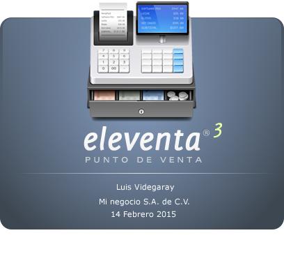 eleventa 3.0 con CFDI